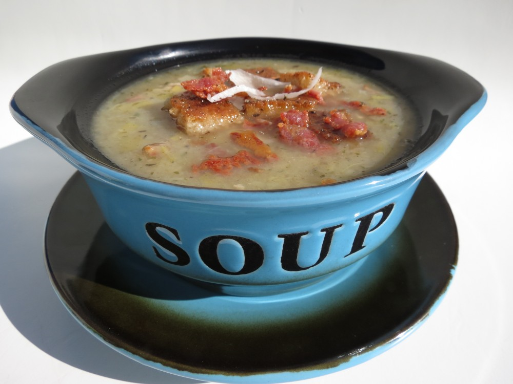 Bacon, Leek and Potato Soup (1/6)